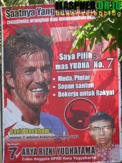 Foto Kampanye Lucu