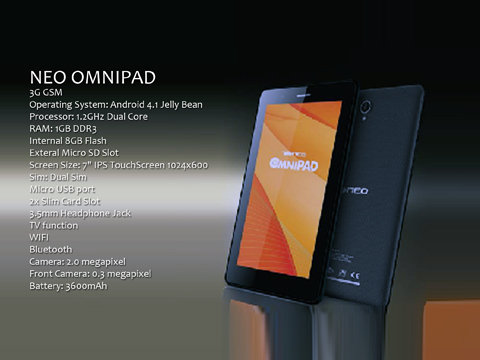 Neo OmniPad Price and Specs in the PH