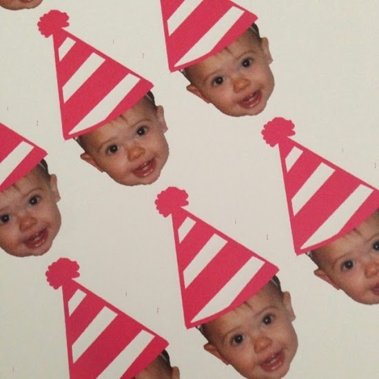 face cupcake toppers