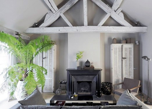 Grisaille rooms the art of decorating in shades of gray Shades of gray for living room