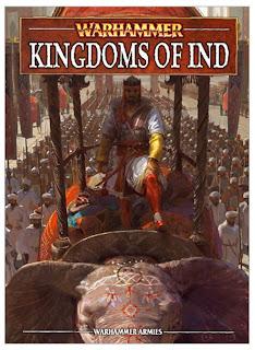 Portada de Kingdoms of Ind para Warhammer