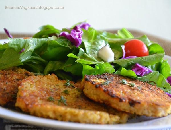 recetas veganas hamburguesas de quinoa