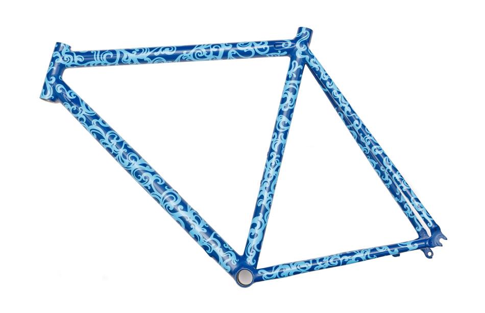 Emmy Star Brown: Custom Bike Frame