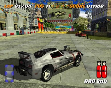 Destruction Derby Arenas Cheats walpaper gameps2