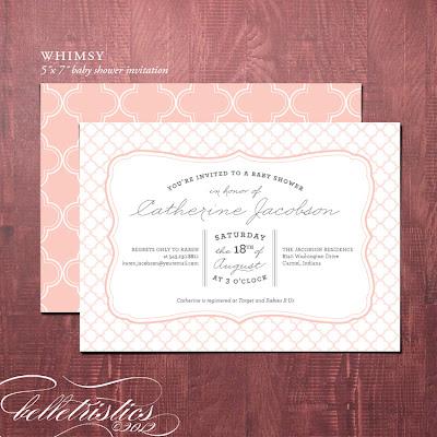 printable diy typographic quatrefoil baby shower invite invitation boy girl