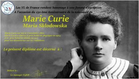Maria Skłodowska-Curie Award