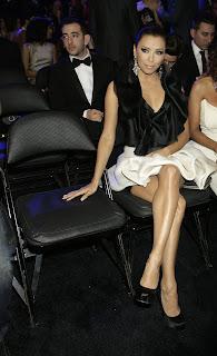 Eva Longoria at the Grammys