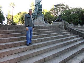 Praça matriz Porto Alegre - 31/05/2012