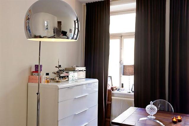 quitinete decorada, kitnet, decoração de quitinete, blog de decoração