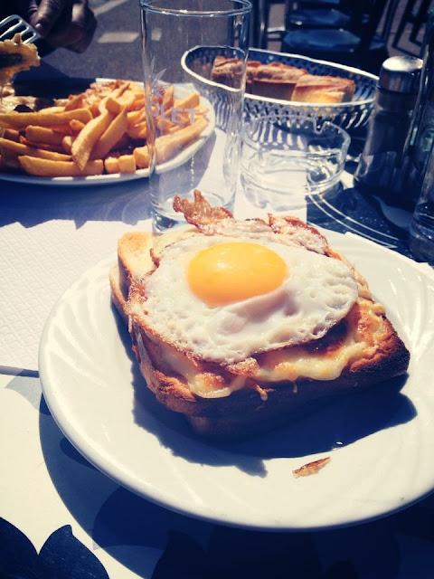 Foto del blog Foodpics Italy: Croque Madame piatto tipico francese