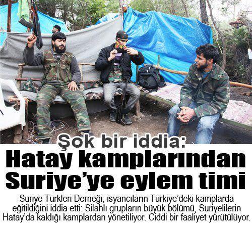 """Türkiye'de dinleniyoruz, Suriye'ye gidip """"kendi vatandaşlarımızı!"""" öldürüp tekrar geri geliyoruz!"""