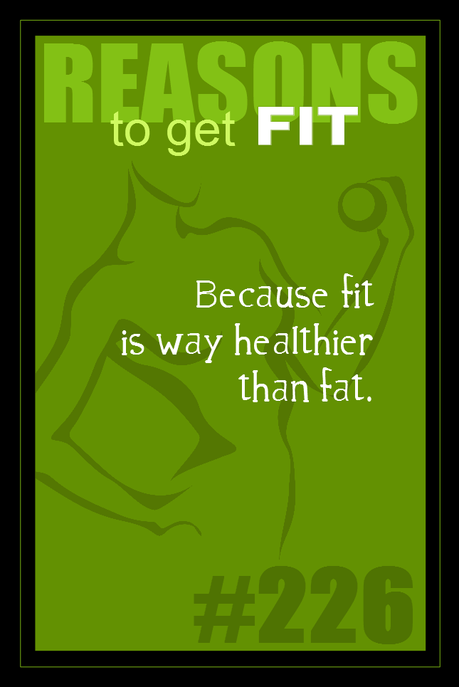 365 Reasons to Get Fit #226