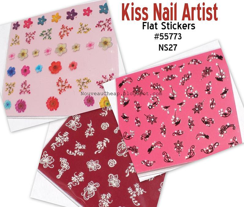 21 marvelous Kiss Nail Art Stickers – ledufa.com