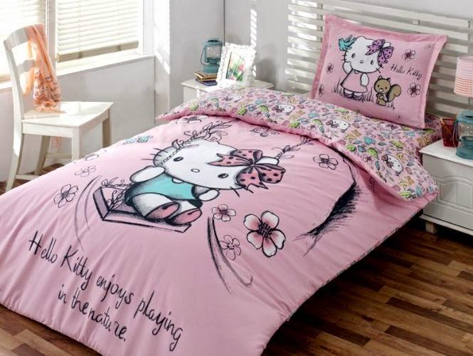 Hello Kitty Nevresim Takımları