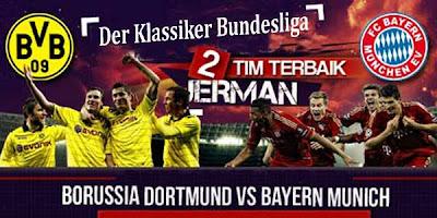 Prediksi Hasil Skor Borussia Dortmund vs Bayern Munchen