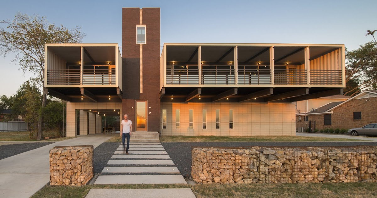 The Majestic Container Home From Architects In Guadalajara: Shipping Container Homes: PV14