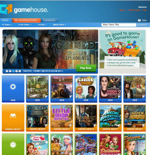 Situs Game Online GameHouse