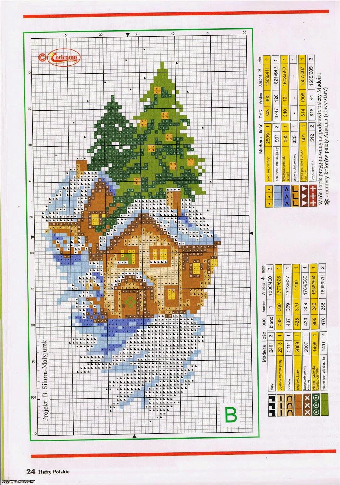 Домик в лесу - Схемы и наборы вышивки бисером крестом 78