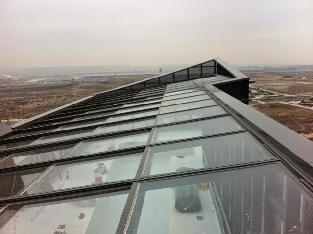Precios de cerramientos de terrazas y ticos en madrid - Tejados de cristal ...