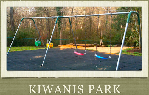 New Swing Seats at Kiwanis Park