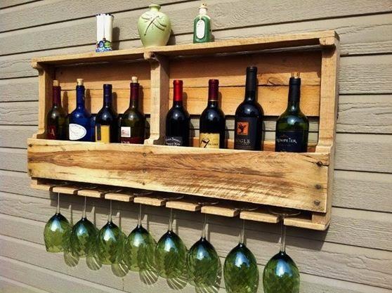 El detalle que hace la diferencia palet mania for Bar hecho en madera