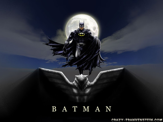 Batman cartoon wallpaper