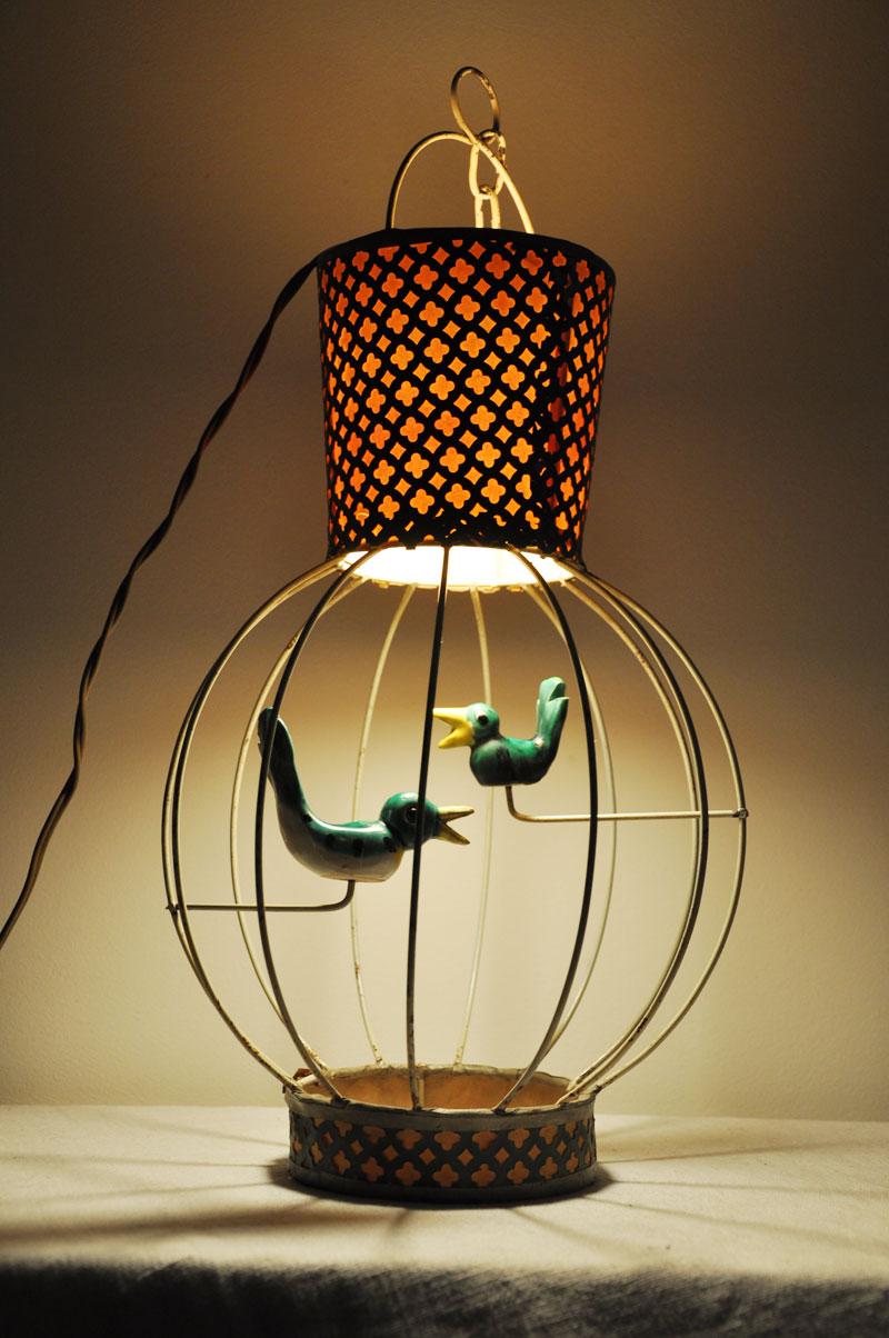 Trop mignon petit lustre cage à oiseaux ! | L\'amateur Eclairé