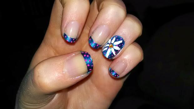 nail diaries spring french