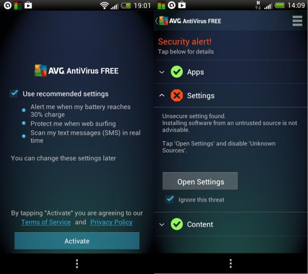 Pasang Anti Virus ini di Androidmu: AVG AntiVirus FREE for Android v4