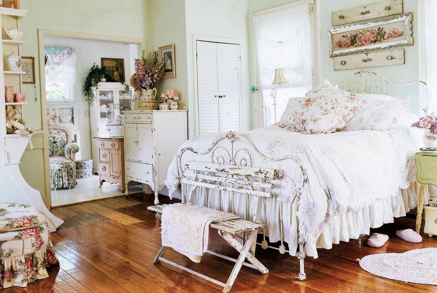 Almacen vintage dormitorios shabby chic bedrooms shabby chic - Dormitorio shabby chic ...