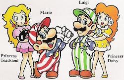Yo,Mario,Daisy y Luigi
