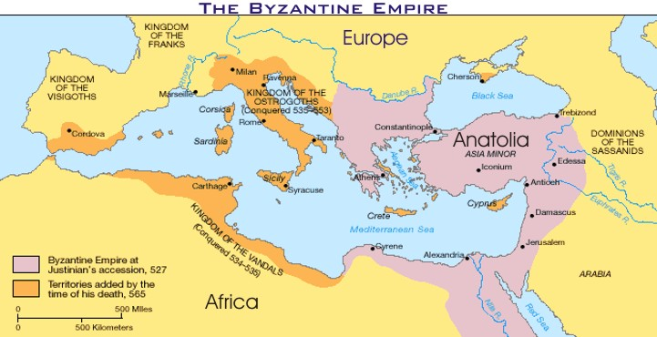 Mr Es World History Page Chapter 8 The Byzantine Empire And