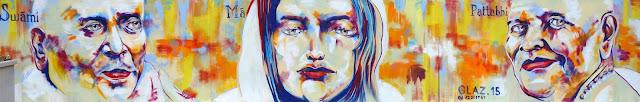 La nouvelle fresque murale par Glaz - 20 octobre 2015