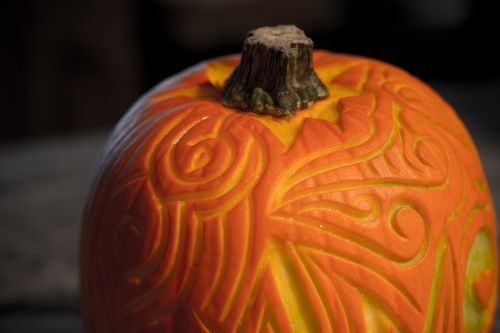 This and that in my treasure box prettiest most elegant pumpkin carvings and creations ever - Attractive kid halloween decorating design ideas with various spiderman pumpkin carving ...