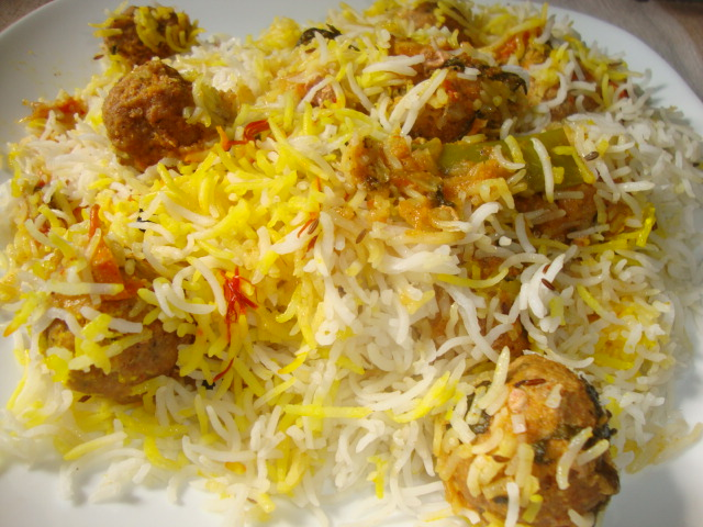 Cooking Delights: Kofta Biryani(Pakistani)