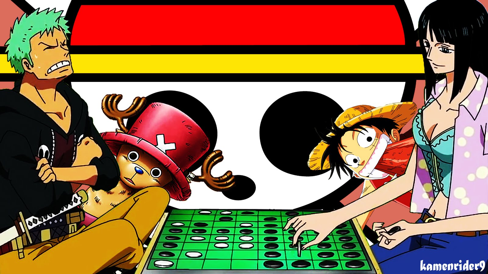 One Piece Wallpaper With Flag