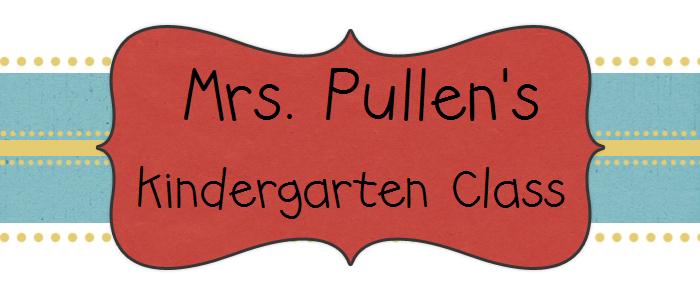 Mrs. Pullen's Kindergarten Class