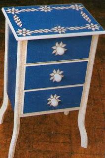 Muebles de madera decorados paso a paso