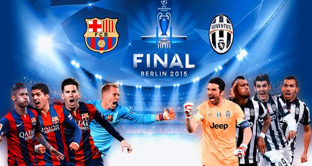 Barcelona vs Juventus 2015 Final live streaming