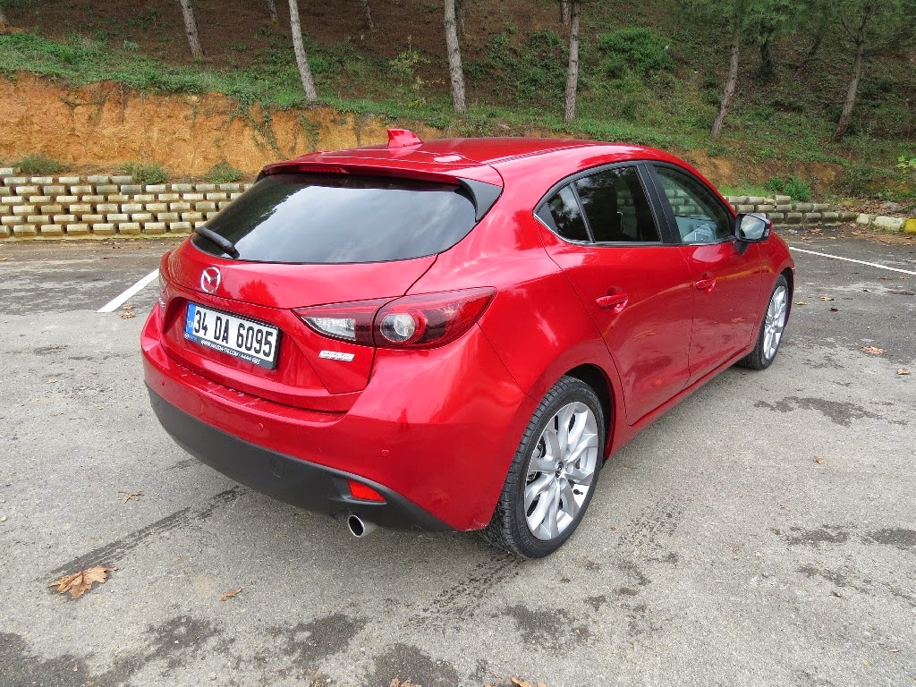 agamemnon: mazda3 hatchback skyactiv-g 1.5 at power