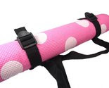 STyle Athletics Yoga Mat Fun On Bonanza Pink White Polka Dot