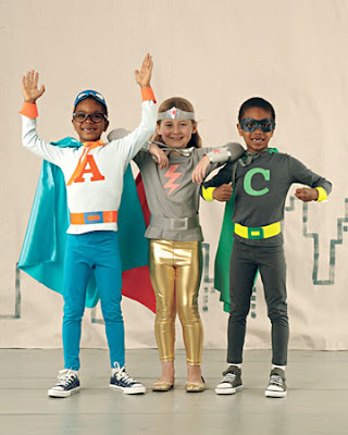 Homemade kids' Halloween costume ideas