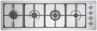 Kuchenka simens cztery palniki w jednym rzędzie