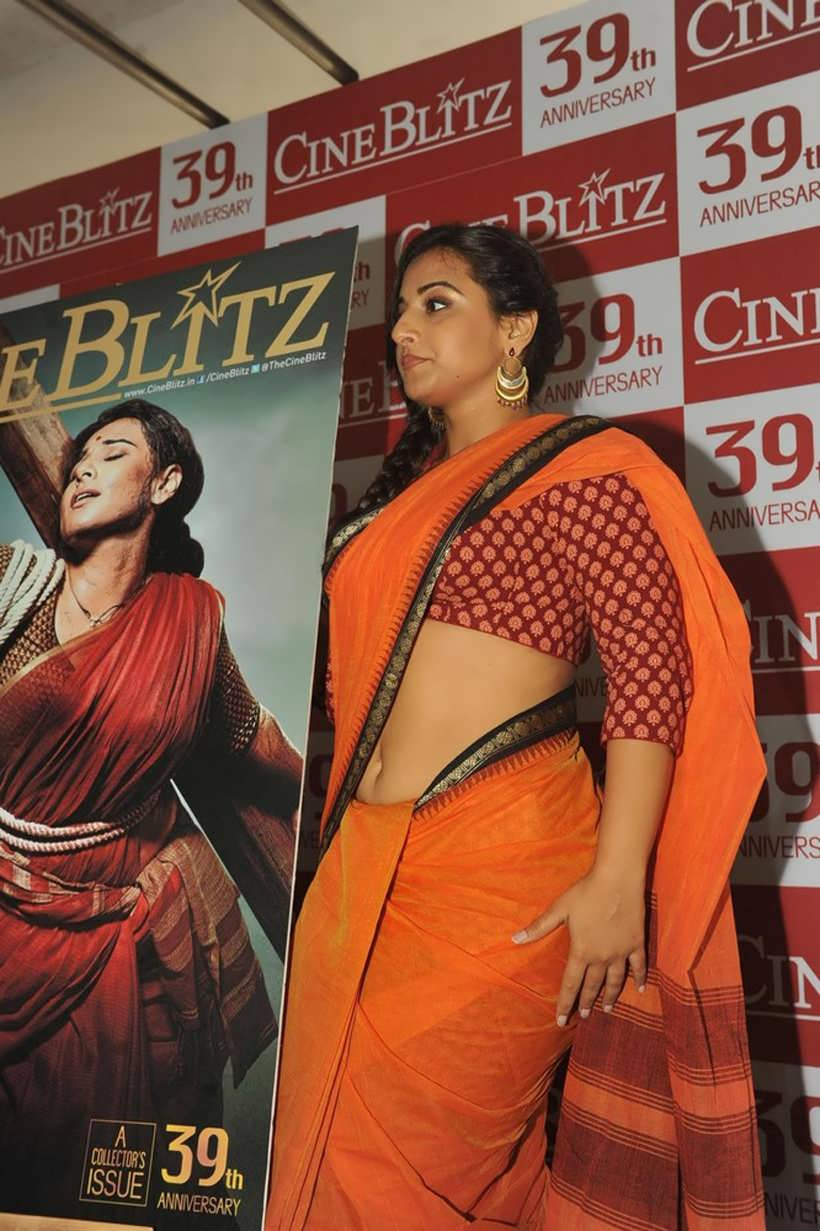 ... navel,cleavage,hip,waist photo collections : vidya balan saree navel