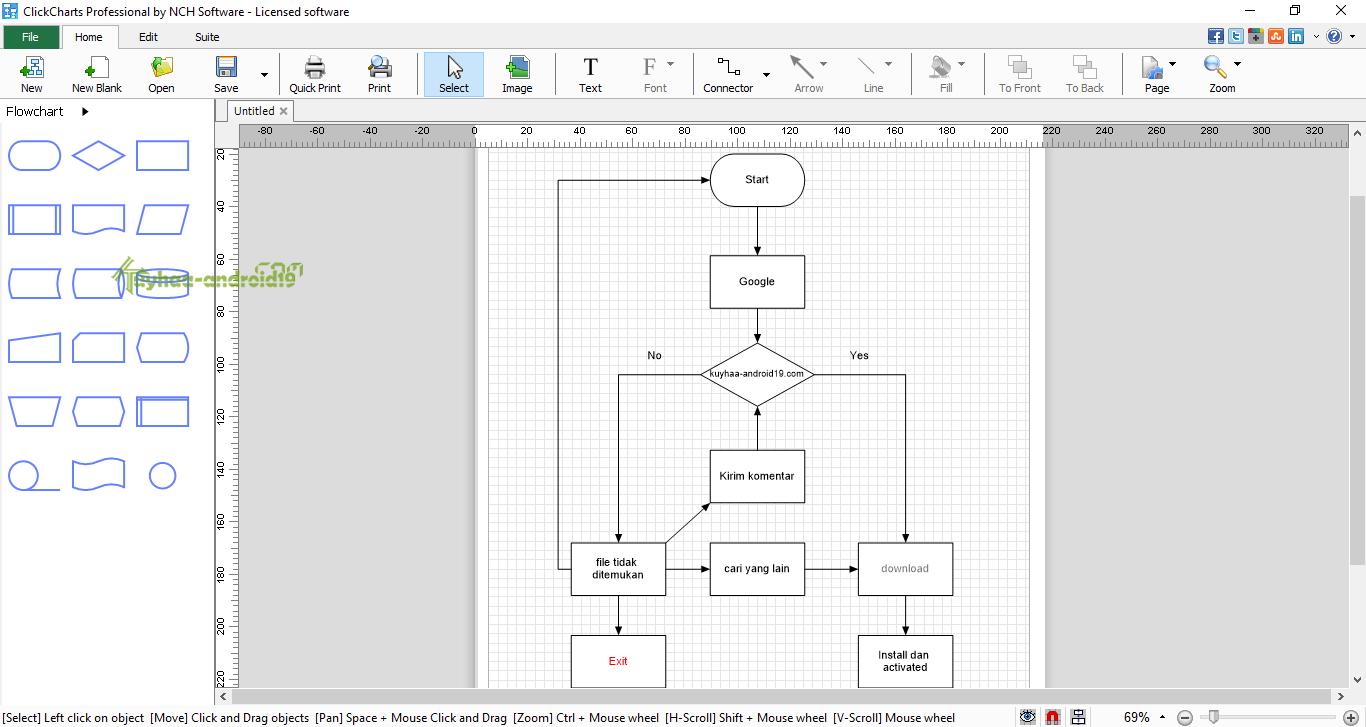 ClickCharts Diagram & Flowchart