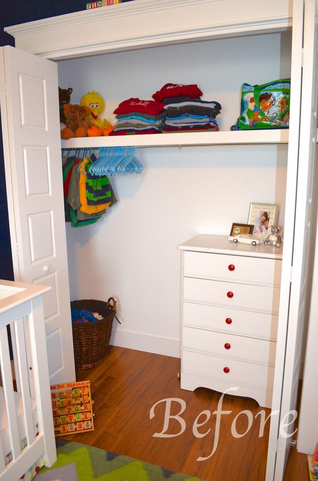 Slippers By Day Kids Closet Organization