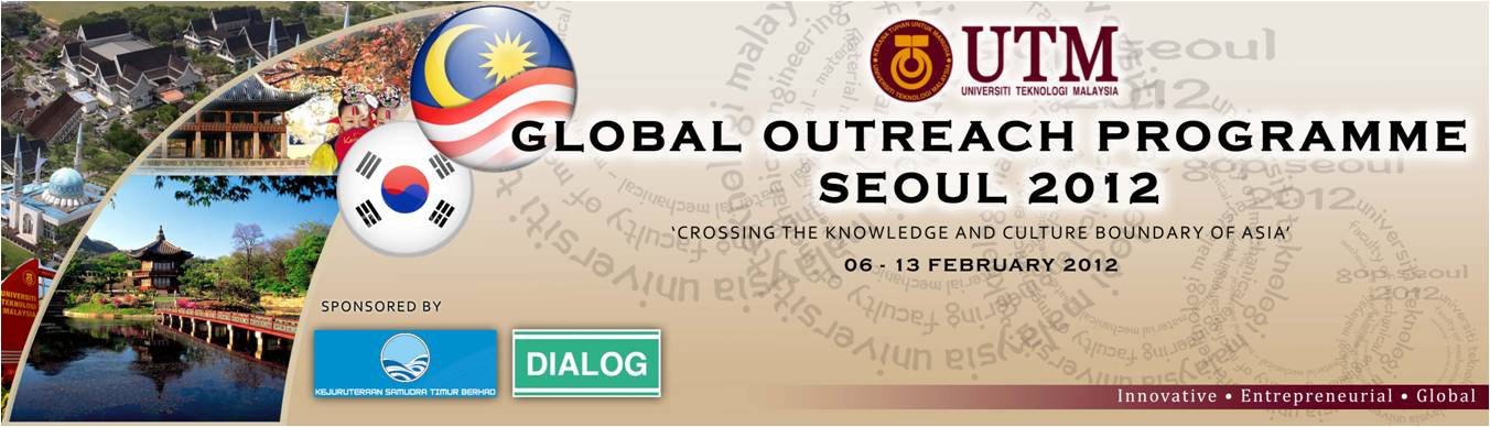 Official Website for Global Outreach Programme to South Korea 2012
