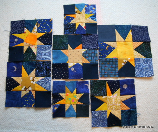 Quilts of a Feather: Seeing Stars : starry night quilt pattern - Adamdwight.com