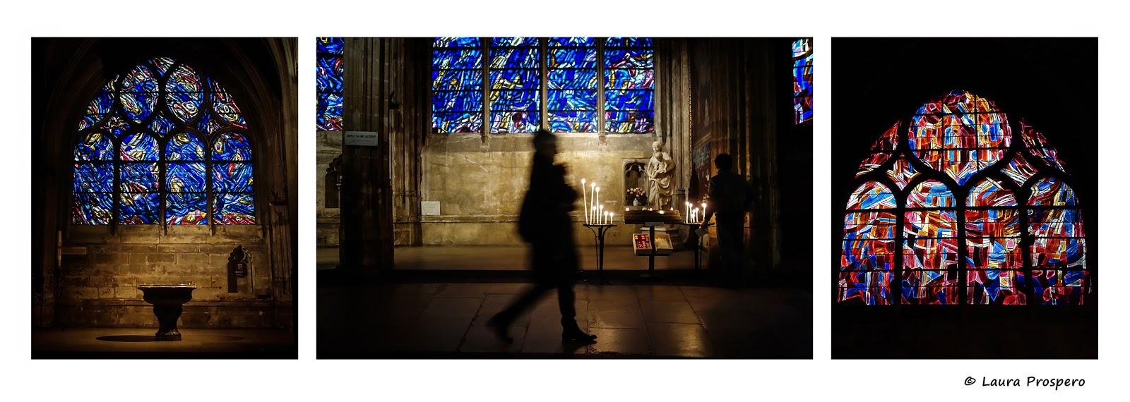 vitraux de jean bazaine - église saint-séverin © Laura Prospero