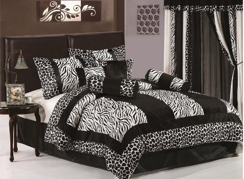 Nice Cool Zebra Print Inspired Products and Designs Zebra Print Toddler Bedding